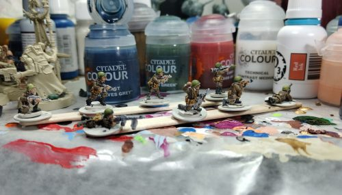 Soviets and Contrast Paints